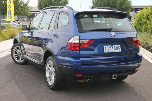 Used BMW X3 E83 MY07 si Steptronic Essendon Fields, 2007 BMW X3 E83 MY07 si Steptronic Blue 6 Speed Sports Automatic Wagon