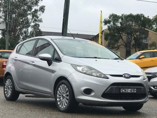 2012 Ford Fiesta WT LX Silver, Chrome 5 Speed Manual Hatchback