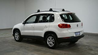 2014 Volkswagen Tiguan 5N MY14 118TSI DSG 2WD White 6 Speed Sports Automatic Dual Clutch Wagon.