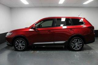 2016 Mitsubishi Outlander ZK MY16 XLS 4WD Red 6 Speed Sports Automatic Wagon