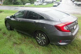 2017 Honda Civic 10th Gen MY16 VTi-S Grey 1 Speed Constant Variable Sedan.