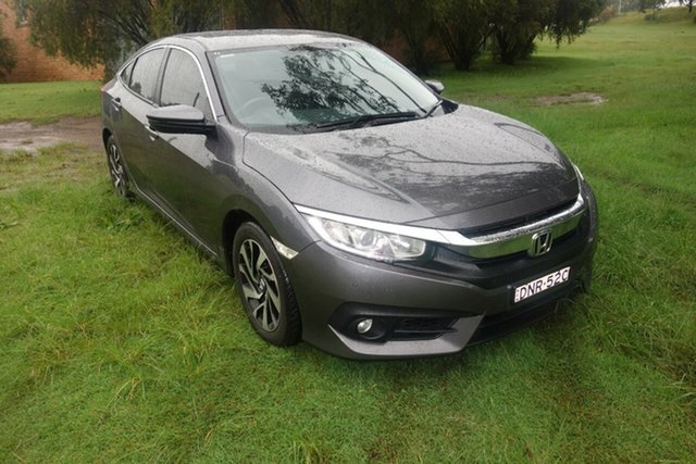 Used Honda Civic 10th Gen MY16 VTi-S East Maitland, 2017 Honda Civic 10th Gen MY16 VTi-S Grey 1 Speed Constant Variable Sedan