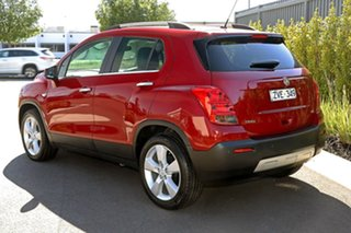 2013 Holden Trax TJ MY14 LTZ Red 6 Speed Automatic Wagon.