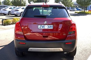 2013 Holden Trax TJ MY14 LTZ Red 6 Speed Automatic Wagon