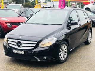 2012 Mercedes-Benz B-Class W246 B180 BlueEFFICIENCY DCT Black 7 Speed Sports Automatic Dual Clutch.