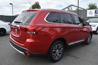 2015 Mitsubishi Outlander ZK MY16 XLS 4WD Red 6 Speed Constant Variable Wagon