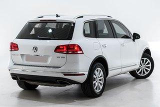2018 Volkswagen Touareg 7P MY18 V6 TDI Tiptronic 4MOTION White 8 Speed Sports Automatic Wagon.