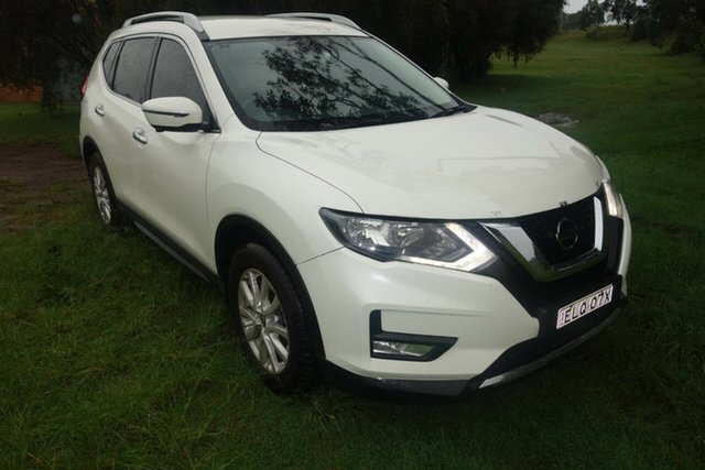 Used Nissan X-Trail T32 Series II ST-L X-tronic 2WD East Maitland, 2017 Nissan X-Trail T32 Series II ST-L X-tronic 2WD White 7 Speed Constant Variable Wagon