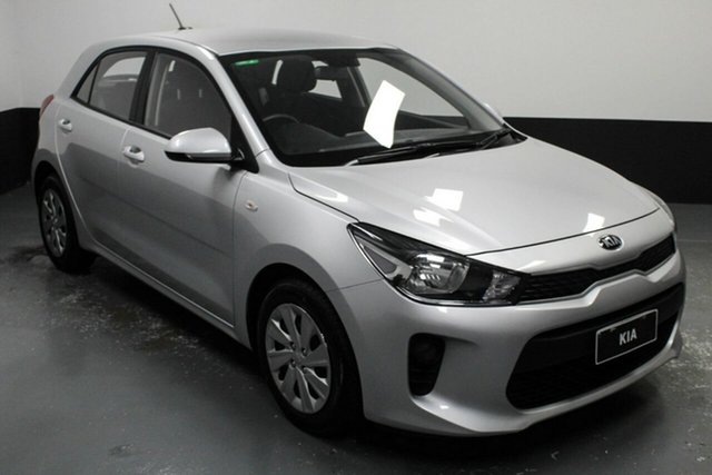 Used Kia Rio YB MY18 S Hamilton, 2018 Kia Rio YB MY18 S Silver 4 Speed Sports Automatic Hatchback