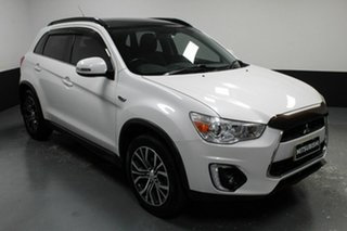 2015 Mitsubishi ASX XB MY15.5 XLS 2WD Starlight 6 Speed Constant Variable Wagon.