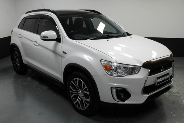Used Mitsubishi ASX XB MY15.5 XLS 2WD Hamilton, 2015 Mitsubishi ASX XB MY15.5 XLS 2WD Starlight 6 Speed Constant Variable Wagon