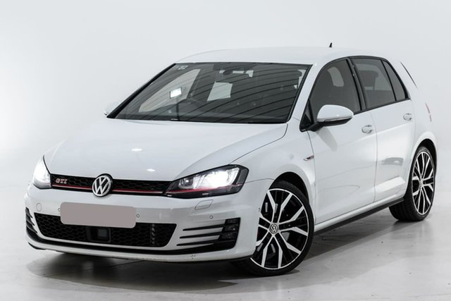 Used Volkswagen Golf VII MY15 GTI DSG Performance Berwick, 2014 Volkswagen Golf VII MY15 GTI DSG Performance White 6 Speed Sports Automatic Dual Clutch