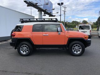 2012 Toyota FJ Cruiser GSJ15R Orange Clay 5 Speed Automatic Wagon.