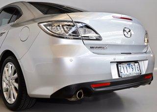 2010 Mazda 6 GH1052 MY10 Luxury Silver 5 Speed Sports Automatic Sedan