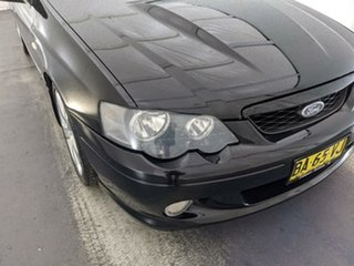 2005 Ford Falcon BA Mk II XR8 Black 4 Speed Sports Automatic Sedan