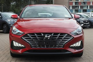 2020 Hyundai i30 Fiery Red 6 Speed Automatic i-30 (PD) 5-DOOR