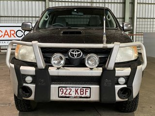 2005 Toyota Hilux KUN26R MY05 SR5 Black 5 Speed Manual Utility