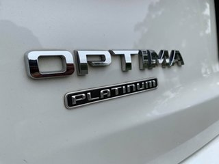 2014 Kia Optima TF MY14 Platinum White 6 Speed Automatic Sedan