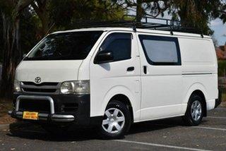 2010 Toyota HiAce KDH201R MY10 LWB White 4 Speed Automatic Van.