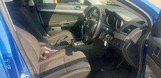 2010 Mitsubishi Lancer CJ MY10 ES Blue 6 Speed Constant Variable Sedan
