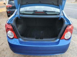 2013 Holden Barina TM MY13 CD Blue 6 Speed Automatic Sedan