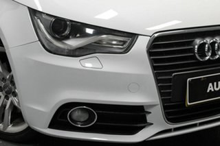 2012 Audi A1 8X MY13 Ambition Sportback S Tronic White 7 Speed Sports Automatic Dual Clutch.