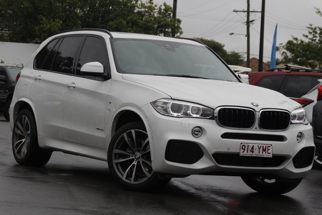 Used BMW X5 F15 xDrive35i Mount Gravatt, 2017 BMW X5 F15 xDrive35i White 8 Speed Sports Automatic Wagon