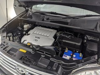 2009 Toyota Kluger GSU45R Grande AWD Black 5 Speed Sports Automatic Wagon