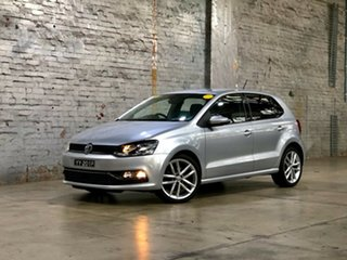2016 Volkswagen Polo 6R MY16 81TSI DSG Comfortline Silver 7 Speed Sports Automatic Dual Clutch.