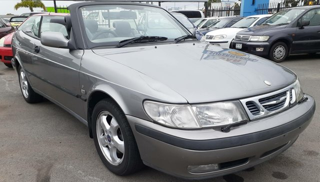 Used Saab 9-3 MY2001.5 S Cheltenham, 2001 Saab 9-3 MY2001.5 S Tungsten 4 Speed Automatic Convertible