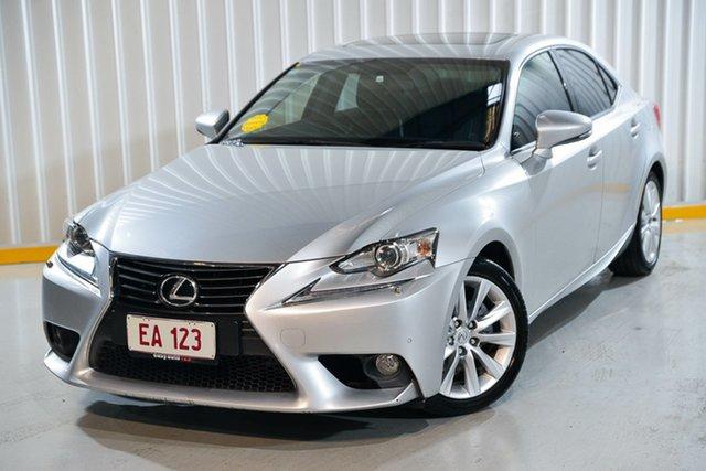 Used Lexus IS GSE30R IS250 Luxury Hendra, 2014 Lexus IS GSE30R IS250 Luxury Silver 6 Speed Sports Automatic Sedan