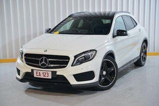2017 Mercedes-Benz GLA-Class X156 807MY GLA250 DCT 4MATIC White 7 Speed Sports Automatic Dual Clutch.