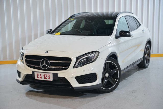 Used Mercedes-Benz GLA-Class X156 807MY GLA250 DCT 4MATIC Hendra, 2017 Mercedes-Benz GLA-Class X156 807MY GLA250 DCT 4MATIC White 7 Speed Sports Automatic Dual Clutch