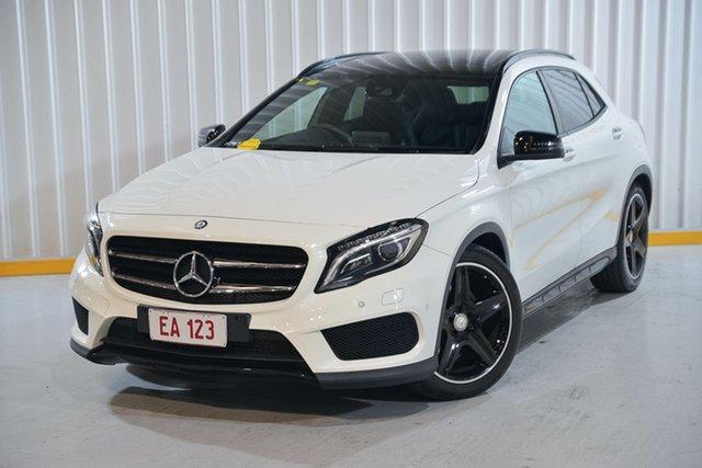Used Mercedes-Benz GLA-Class X156 807MY GLA250 DCT 4MATIC Hendra, 2017 Mercedes-Benz GLA-Class X156 807MY GLA250 DCT 4MATIC White 7 Speed Sports Automatic Dual Clutch