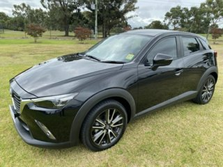 2017 Mazda CX-3 DK2W7A sTouring SKYACTIV-Drive Black 6 Speed Sports Automatic Wagon