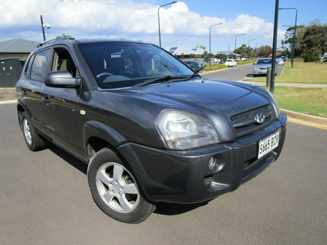 Used Hyundai Tucson MY07 City SX Glenelg, 2007 Hyundai Tucson MY07 City SX Grey 4 Speed Automatic Wagon