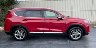 2018 Hyundai Santa Fe TM MY19 Highlander Red/Black 8 Speed Sports Automatic Wagon.