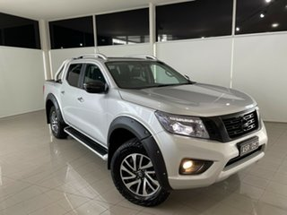 2017 Nissan Navara D23 S2 ST-X Silver, Chrome 7 Speed Sports Automatic Utility.