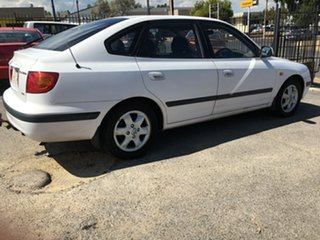 2003 Hyundai Elantra XD GLS White 5 Speed Manual Hatchback.