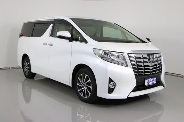 Used Toyota Alphard Bentley, 2016 Toyota Alphard GF 3.5L V6 Automatic 7 Seater Wagon