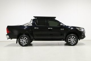 2019 Toyota Hilux GUN126R MY19 SR5 (4x4) Black 6 Speed Automatic Double Cab Pick Up