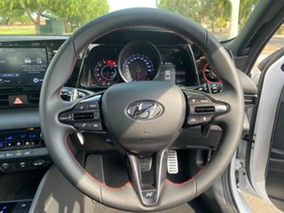2021 Hyundai i30 CN7.V1 MY21 N Line D-CT Polar White 7 Speed Sports Automatic Dual Clutch Sedan