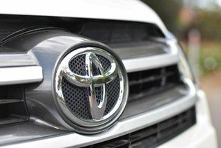 2017 Toyota Kluger GSU55R GX AWD White 8 Speed Sports Automatic Wagon