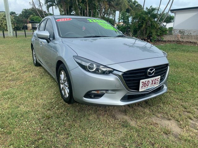 Used Mazda 3 Bowen, 2017 Mazda 3 MAXX Silver 6 Speed Automatic Hatchback