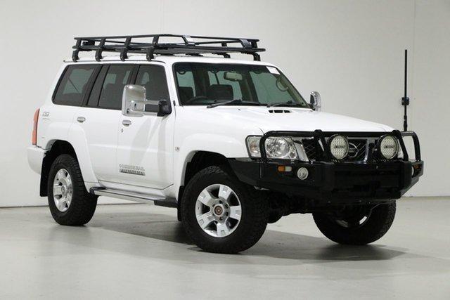Used Nissan Patrol GU Series 9 ST (4x4) Bentley, 2014 Nissan Patrol GU Series 9 ST (4x4) White 5 Speed Manual Wagon