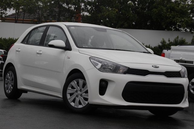 Used Kia Rio YB MY19 S Mount Gravatt, 2019 Kia Rio YB MY19 S White 4 Speed Sports Automatic Hatchback