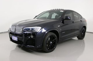 2016 BMW X4 F26 MY16 xDrive 35I Blue 8 Speed Automatic Coupe.