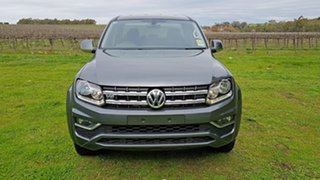 2020 Volkswagen Amarok 2H MY21 TDI550 4MOTION Perm Sportline Indium Grey 8 Speed Automatic Utility.