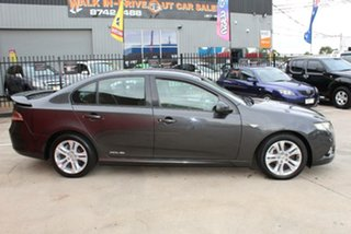 2009 Ford Falcon FG XR6 (LPG) Grey 4 Speed Auto Seq Sportshift Sedan