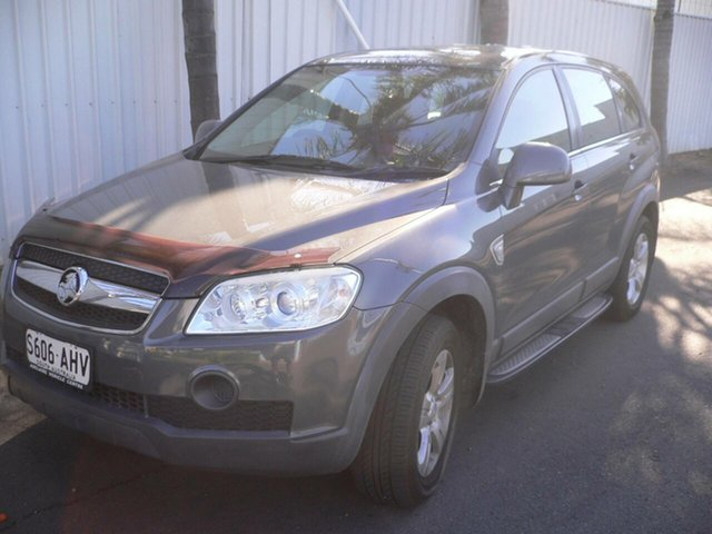 Used Holden Captiva CG MY10 SX St Marys, 2010 Holden Captiva CG MY10 SX Grey 5 Speed Sports Automatic Wagon